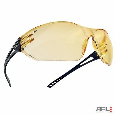 Bolle Slam SLAPSJ Anti-Fog Anti-Scratch Yellow Lens Panoramic Safety Glasses