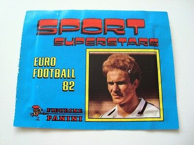 Panini / Euro Football 82 / Tüte, packet, bustina / Sport Superstars 1982 / OVP!