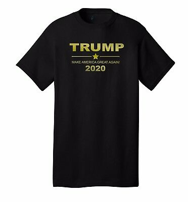 """TRUMP 2020 """"Gold Edition"""" PRESIDENT ELECTION T-SHIRT REPUBLICAN POLITICAL NEW"""