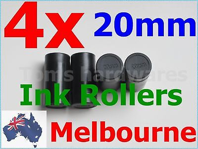 4x 20mm Ink Rollers for 5500 / MX-5500/ CN-5500 / 1 line Price Labellers