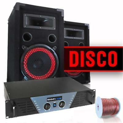 Home Audio Party Karaoke Singing Pa System Indoor Outdoor 480W Amp