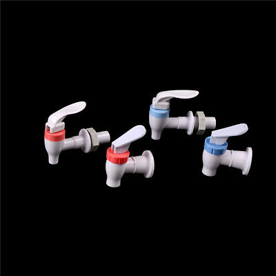 New Push Type Plastic Replacement Water Dispenser Tap Faucet White FT