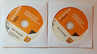 Renault Carminat Informee V32.2 DVD with software update, free shipping