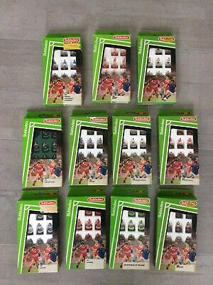 Subbuteo Lot 11 Full LW Teams 63000 Man Utd,West Germany,Liverpool,Scotland etc