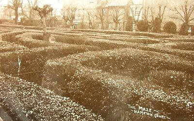 The Maze Hampton Court Middlesex Early Rp Pc