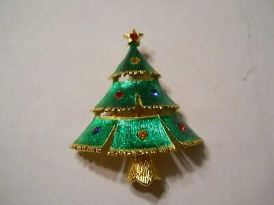 """Christmas Tree Pin-Very Colorful Approx 2"""" Tall"""