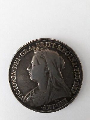 Crown 1897 Victoria Veiled Head