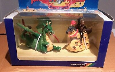 BRITAINS Knights of the sword. POWER DRAGON AND POWER KNIGHT 7755