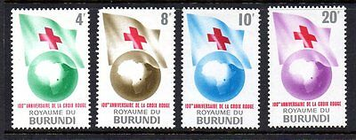 Burundi - 1963 Red Cross - Lightly Mounted Mint