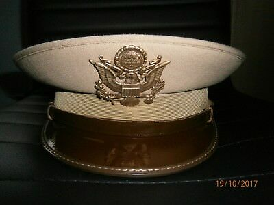 WW2 USAAF style Confezioni peaked visor officers hat