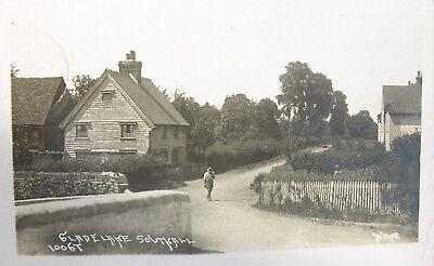 Tranquil Glade Lane Southall Middlesex 1928 Rp Pc