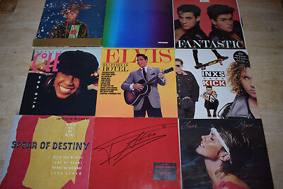 JOB LOT of 50 Records - Vinyl Collection LP's - Please Look At Photos Provided