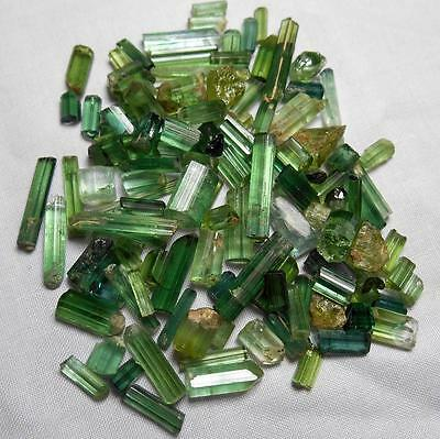 173 Ct Transparent Rough Green Tourmaline Lot from Afghanistan