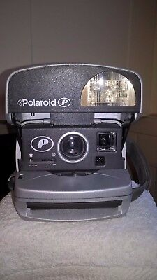 Polaroid, P600, instant camera, TESTED & WORKING, 130