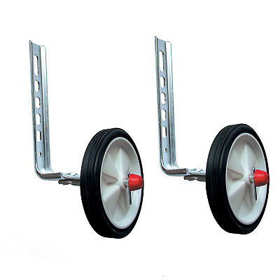 """Bicycle Stabilisers for Childrens Bikes Adjustable for 12-20"""" Wheel Child Cycle"""