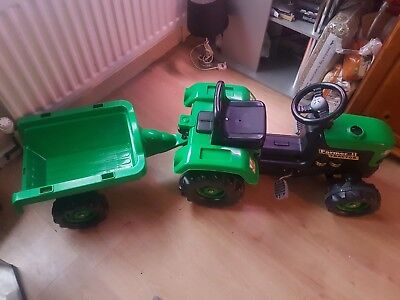 kids trackor and trailer