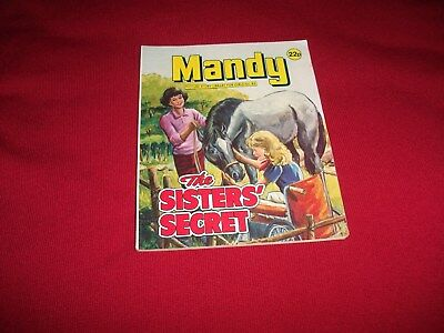 MANDY  PICTURE STORY LIBRARY BOOK from 1980's: never been read - gd condit