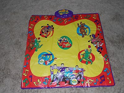 Wiggles Wiggly Wiggly Dance Mat Musical Toddler Toy Spinmaster 2003 Boy Girl