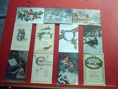 47 Old Postcards Christmas and New Year Greetings