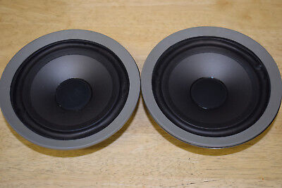 Pair Of B&W ZZ5509 Mid/Bass Drive Units From DM600 Speakers - Working Perfectly