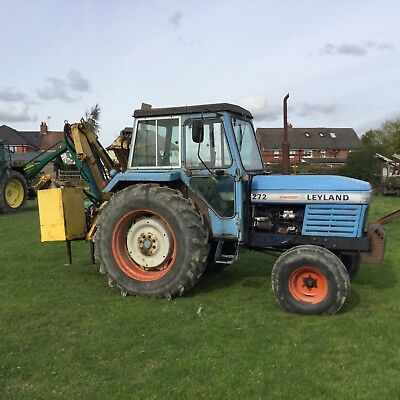 Leyland 272 Synchro Tractor and Hedge Trimmer