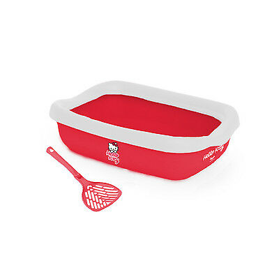 Hello Kitty Litter tray and scoop, with FREE Hello Kitty Catnip Scratcher