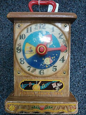 Fisher Price Music Box Tick-Tock Clock