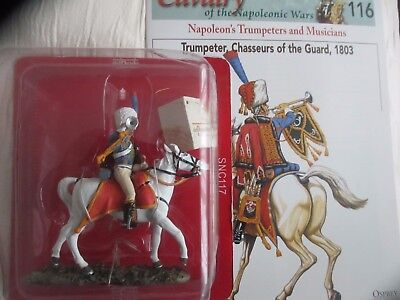 Del Prado Cavalry Of The Napoleonic Wars: Trumpeter, Chasseurs Of The Guard 1803