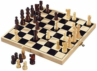 Folding Chess Wooden Games Set