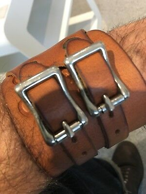 Mister Freedom Leather Strong Man Cuff. Rare. RRL LVC
