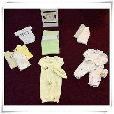 Gender Neutral Baby Clothing 0-3 months  (14 piece lot) Carter's