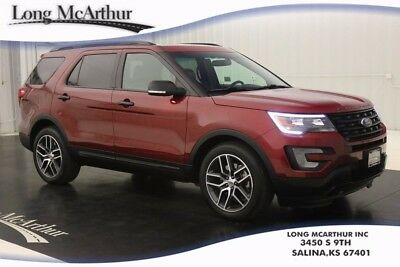 2016 Ford Explorer SPORT AWD SUV MSRP $47330 NAVIGATION REAR VIEW CAMERA REVERSE SENSING SONY AUDIO  SIRIUS SATELLITE