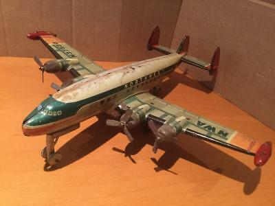 Yonezawa Tinplate Toy Northwest Airlines NWA N37530 Super Constellation Japan GC