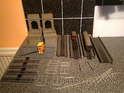 Pre-owned Job-lot Of Hornby & Tri-ang Suspension Bridge & More