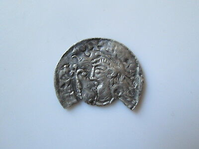 England, anglo-Saxon 11 century silver penny, Cnut the Great