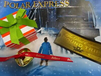 *SPECIAL OFFER I Believe Polar Express Believe Silver Or Gold Jingle Bell Ticket
