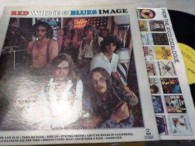 LP *Psych* BLUE IMAGE - Red White & Blue Image *ATCO OIS foc 348