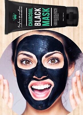 taylor&carter Charcoal Blackhead Remover Peel Off Facial Mask Cleaning Black.