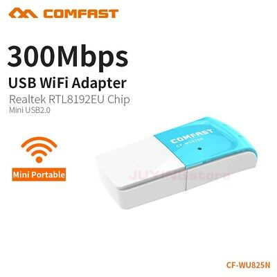COMFAST 300MBPS USB Wireless Adapter WiFi RTL8192EU Network Dongle 802 11
