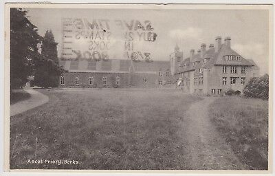 Old Photo Postcard Ascot Priory Berkshire 1954