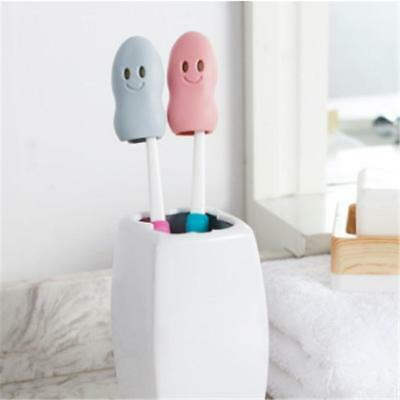 2Pcs Portable Travel Toothbrush Head Cover Case Protective Cap Hike Camping LH