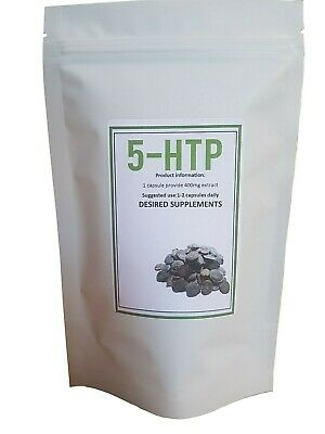 5HTP 400mg Veg Capsules Depression Anxiety Relaxation Sleep