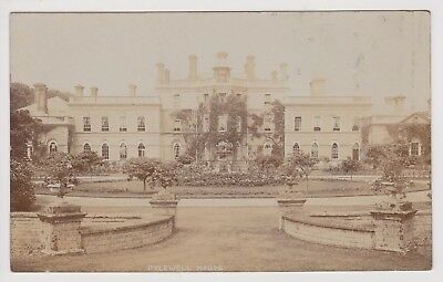 Old Photo Postcard Pylewell House Lymington Unposted