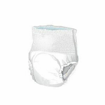 48 Adult Disposable HEAVY ABSORBENCY Pull On Up Underwear Diaper 2XL XXL White