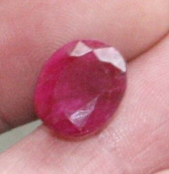11.5 carat Ruby Ring sized