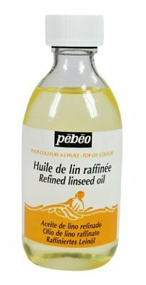 Pebeo 245 ml Refined Linseed Oil, Transparent