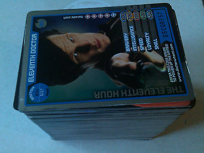 Dr Who Monster Invasion & Exteme 251 Card Lot & 4 Ultra Rares  B.B.C 2011