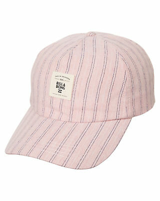 New Billabong Women's Sunnydip Cap Cotton Pink