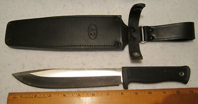 "Fallkniven A2 Wilderness Knife w/ Sheath, 8"" VG10 Stainless Steel Blade, NEW"