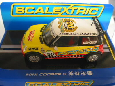 Scalextric C2773 Mini Cooper Nz G Dawson #50  Excellent Boxed